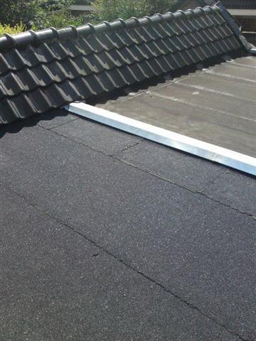 Onderhoud plat dak bitumen